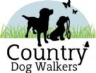 Country dog walkers